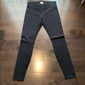 Helmut Lang Black Textured Leggings